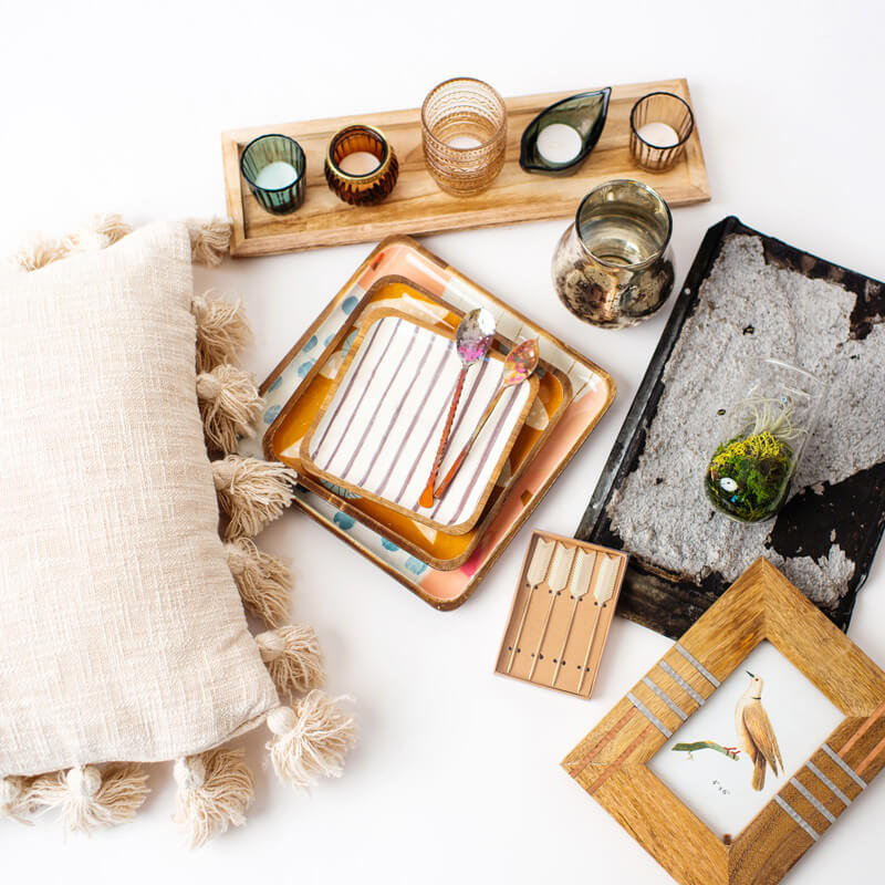 The Living Beyond Ordinary Bundle — the high end decor subscription box by Free Spirit Designs